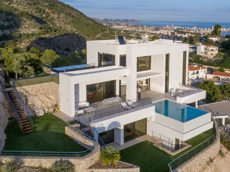 Villa in Altea Mascarat (Alicante province)